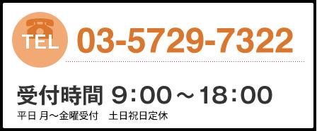 03-5729-7322